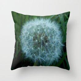 Dandelion 2 -diente de leon Throw Pillow