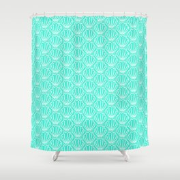 Shell del mar Shower Curtain
