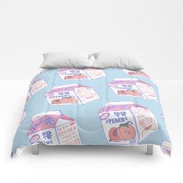 Peach Milk Comforters