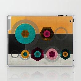 Geometric Hex & Circle Laptop & iPad Skin