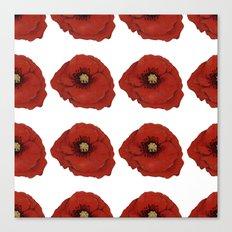 I Adore Poppies Canvas Print
