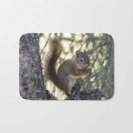 Soldotna Red Squirrel Bath Mat