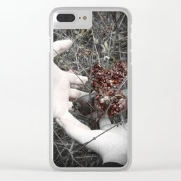 Forget the Mortal World Clear iPhone Case