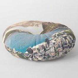 Rio de Janeiro Brazil Floor Pillow