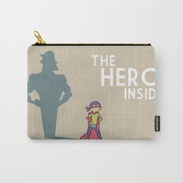 The Hero Inside Carry-All Pouch