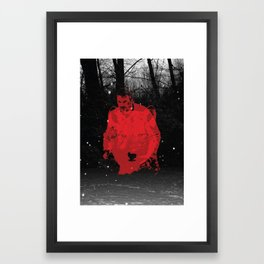 Once more into the fray Framed Art Print