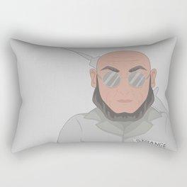 Hugo Strange Rectangular Pillow