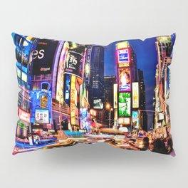 Times scuare Pillow Sham
