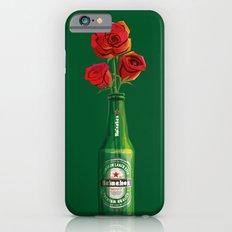 Dudes Love Roses (Green) iPhone 6s Slim Case