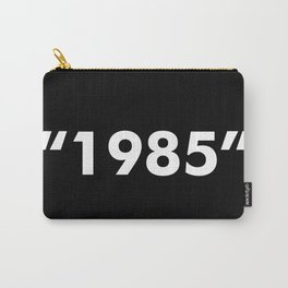 1985 WHITE Carry-All Pouch