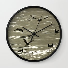 Summerbirds Wall Clock