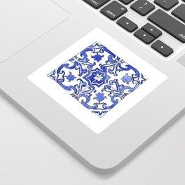 Blue and White Portuguese tile Sticker