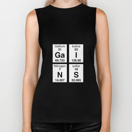 Gains 4 Pack - Periodic Table T-Shirt for Workouts Biker Tank