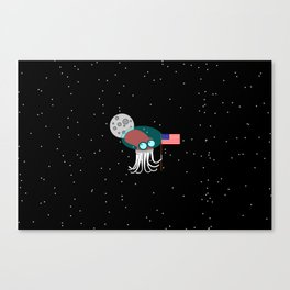 Where No Octopus Has Gone Before Canvas Print