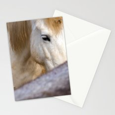 Camargue Horse portrait 6827 Stationery Cards