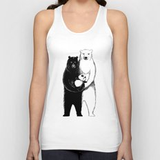 Family Portrait Unisex Tank Top