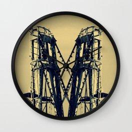 Industrial Machinery Wall Clock