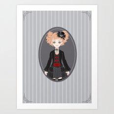 Lucy (Dark Version) Art Print