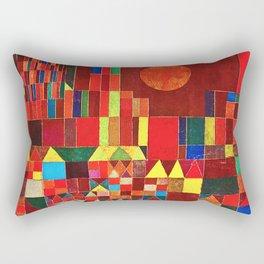 "Paul klee "" Castle and Sun "" Rectangular Pillow"
