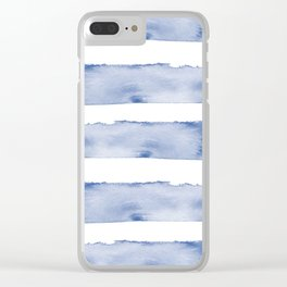 Saltwater Waves Clear iPhone Case