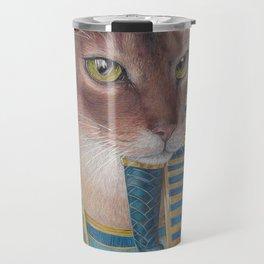 Egyptian Cat Travel Mug