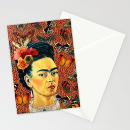 FRIDA bUTTERFLYS Stationery Cards