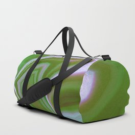 green colored agate Duffle Bag