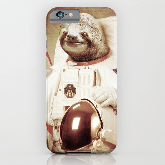 Sloth Astronaut iPhone & iPod Case