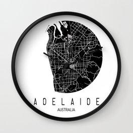 Adelaide White Round Wall Clock