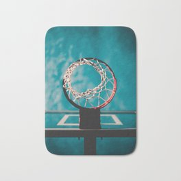 basketball hoop 6 Bath Mat