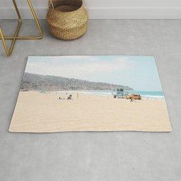 Redondo Beach // California Ocean Vibes Lifeguard Hut Surfing Sandy Beaches Summer Tanning Rug