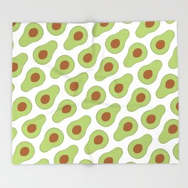 Mexican Avocado Throw Blanket