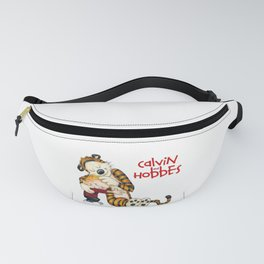 Huggie Calvin And Hobbes Fanny Pack