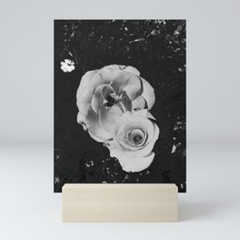 Roses - Black and White Mini Art Print