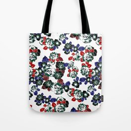 Cool Floral texture Tote Bag