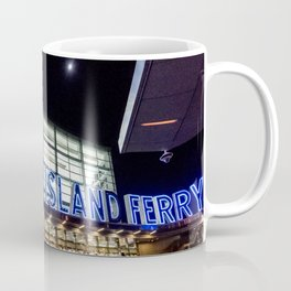 Staten Island Ferry Sign (Image is cropped here) Coffee Mug