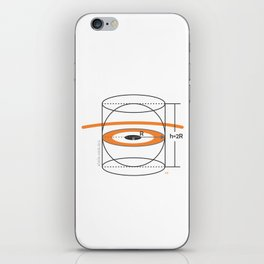 volume iPhone Skin