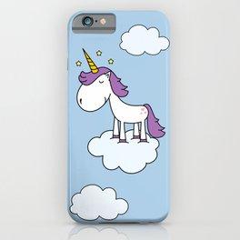 Adorable unicorn iPhone Case