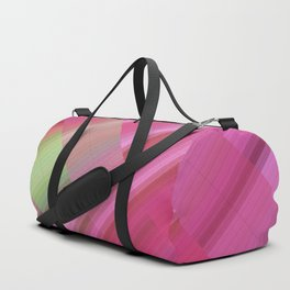 Flamingo. Abstract gradient art geometric background with soft color tone, cell grid. Ideal for arti Duffle Bag