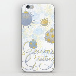 Viral Season's Greetings iPhone Skin