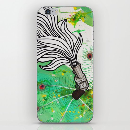 Beauty and the Death Machine iPhone & iPod Skin