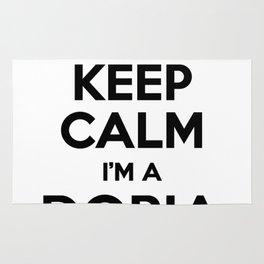 I cant keep calm I am a DORIA Rug