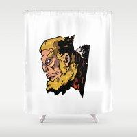 xmen Shower Curtains featuring x22 by jason st paul