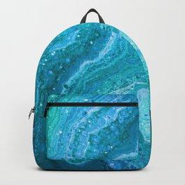 Blue Greenery Backpack