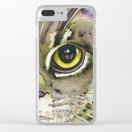 Catnip Clear iPhone Case