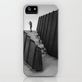 Lone Man iPhone Case