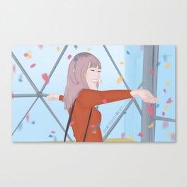 Spread Kindness Like Confetti Canvas Print