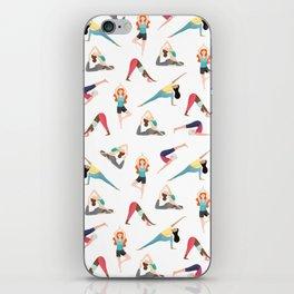 Yoga Pattern iPhone Skin