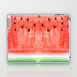 watermelon / watercolor Laptop & iPad Skin