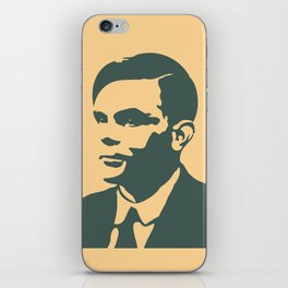 Che Turing iPhone Skin
